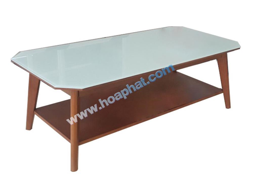 Bàn sofa gỗ kính BSF47K10