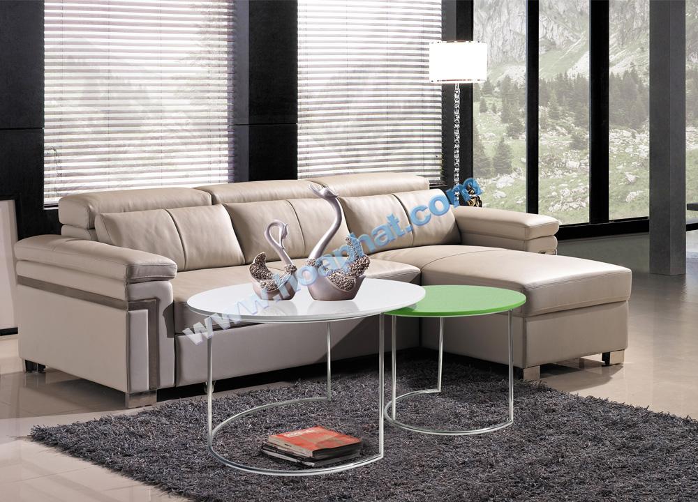 Bàn trà sofa hòa phát khung inox BSF402-60